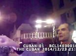 Camera catches drunk man swearing at bouncer 165 times