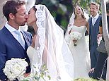 Jenson Button weds Jessica Michibata in Hawaiian ceremony