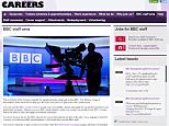 BBC jobs only open to insiders
