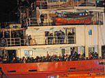 Syrian refugee claims gang paid him £10k to captain Blue Sky M migrant ship