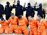 ISIS release footage of Iraqi police who infiltrated the group but were caught