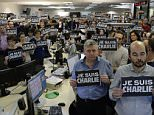 #JeSuisCharlie sweeps Twitter as users show solidarity with Charlie Hebdo