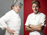 GIRL ABOUT TOWN: Peas in our time for Marco and Gordon as celebrity chefs put fiery feud to bed