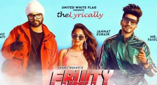 Fruity Lagdi Hai Lyrics – Ramji Gulati | Jannat Zubair & Mr Faisu | theLyrically Lyrics
