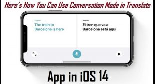 Here's How You Can Use Conversation Mode in Translate App in iOS 14